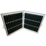 Монокристаллическая солнечная батарея 60 Вт, 12 В, складная