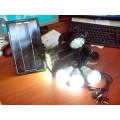 Автономная солнечная система для освещения и зарядки мобильных устройств от USB GD-8007