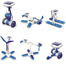 конструктор эко игрушка на солнечной батарее 6 в 1