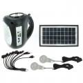 Автономная солнечная система со встроенным MP3/FM проигравателем  GD-8009