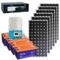 """Солнечная электростанция """"Загородный дом Plus"""" до 6500 Вт*ч в сут."""