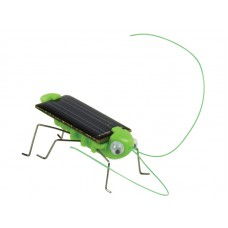 Кузнечик на солнечной батарее